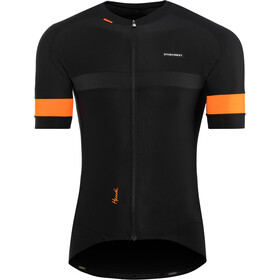 Etxeondo Mendi SS Jersey Men black-orange